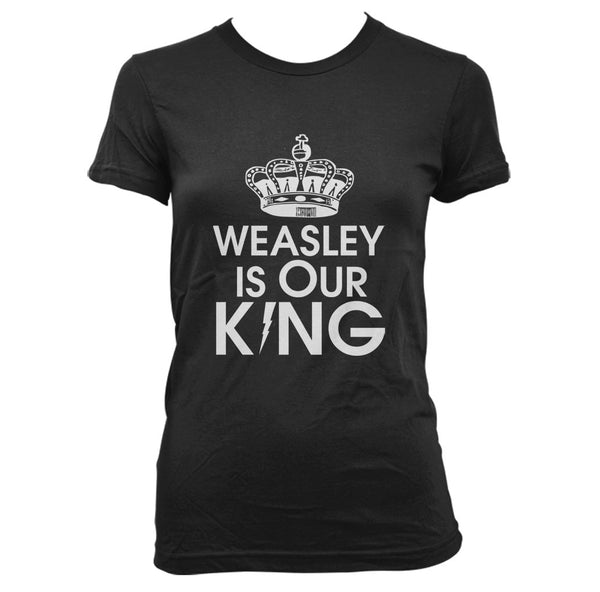Weasly Is Our King Harry potter T-shirt Women
