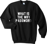 What Is The Wifi Password Unisex Crewneck Sweatshirt - Meh. Geek - 2