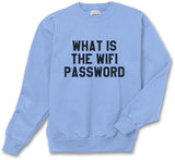 What Is The Wifi Password Unisex Crewneck Sweatshirt - Meh. Geek - 4