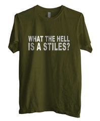 What The Hell Is a Stiles T-shirt Men - Meh. Geek - 2