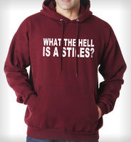 What The Hell Is a Stiles Unisex Pullover Hoodie