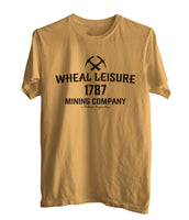 Wheal Leisure Mining Company a Poldark Cooperative Men T-shirt / Men Tee