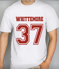 Whittemore 37 on Front Beacon Hills Lacrosse Wolf Unisex Men T-shirt - Meh. Geek
