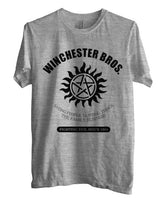 Winchester Bros Saving People Hunting Things The Family Business Men T-shirt - Meh. Geek