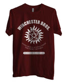 Winchester Bros Saving People Hunting Things The Family Business Men T-shirt