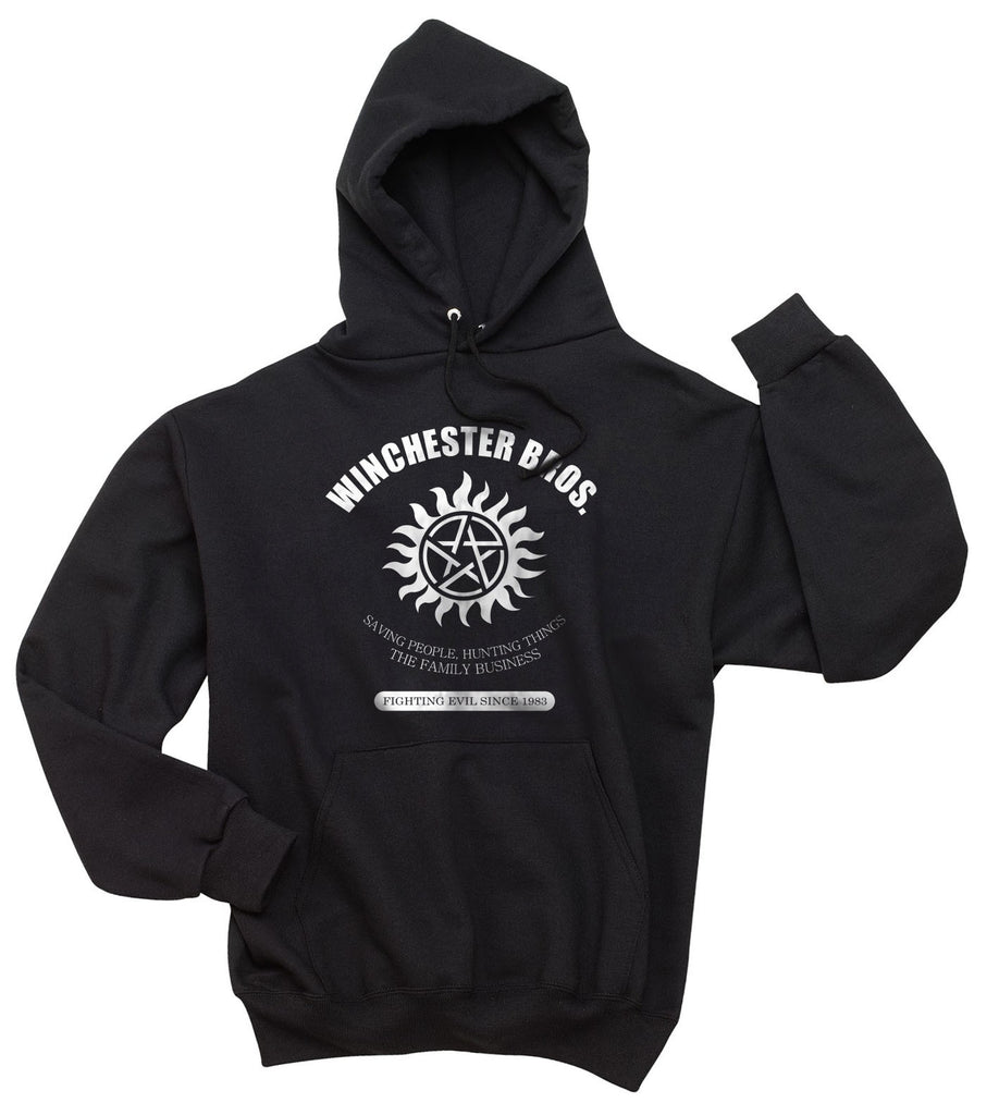 3c44c12d9adca Geek Winchester Saving People Hunting Things The Family Business Unisex Pullover  Hoodie - Meh.