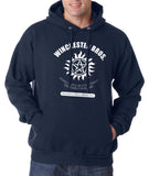 Winchester Saving People Hunting Things The Family Business Unisex Pullover Hoodie