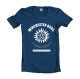 Winchester Bros Saving People Hunting Things The Family Business T-shirt Women