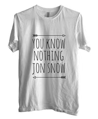 You Know Nothing Jon Snow T-shirt Men - Meh. Geek - 5