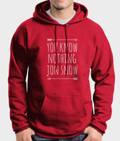 You Know Nothing Jon Snow Game of Thrones Unisex Pullover Hoodie - Meh. Geek - 5