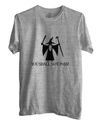 You Shall Not Pass Lord Of The Rings T-shirt Men - Meh. Geek
