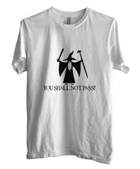 You Shall Not Pass Lord Of The Rings T-shirt Men