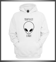 Your Planet Is Next Alien Head Unisex Pullover Hoodie - Meh. Geek - 2