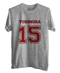 Yukimura 15 on Front Beacon Hills Lacrosse Wolf Unisex Men T-shirt - Meh. Geek