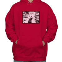 Zenitsu Funny Face KNY Unisex Pullover Hoodie