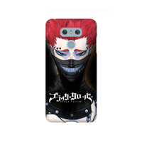 Zora Black Clover LG and Google Pixel Snap or Tough Phone Case
