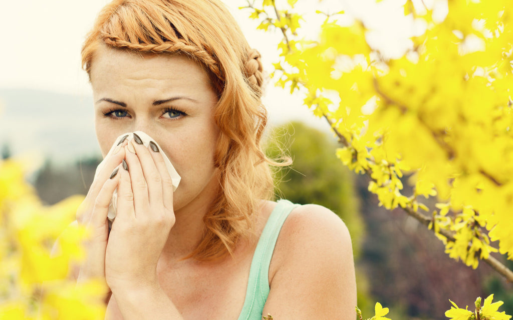 5 TIPS TO REDUCE SPRING ALLERGIES