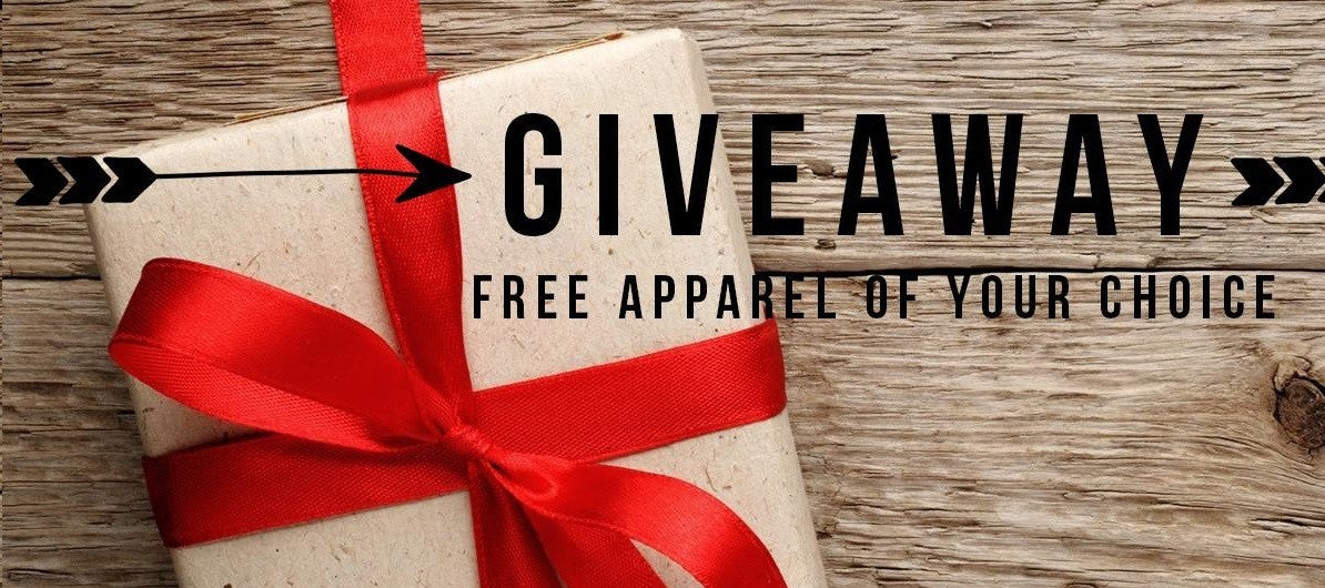 GIVEAWAY | Free Apparel Of Your Choice
