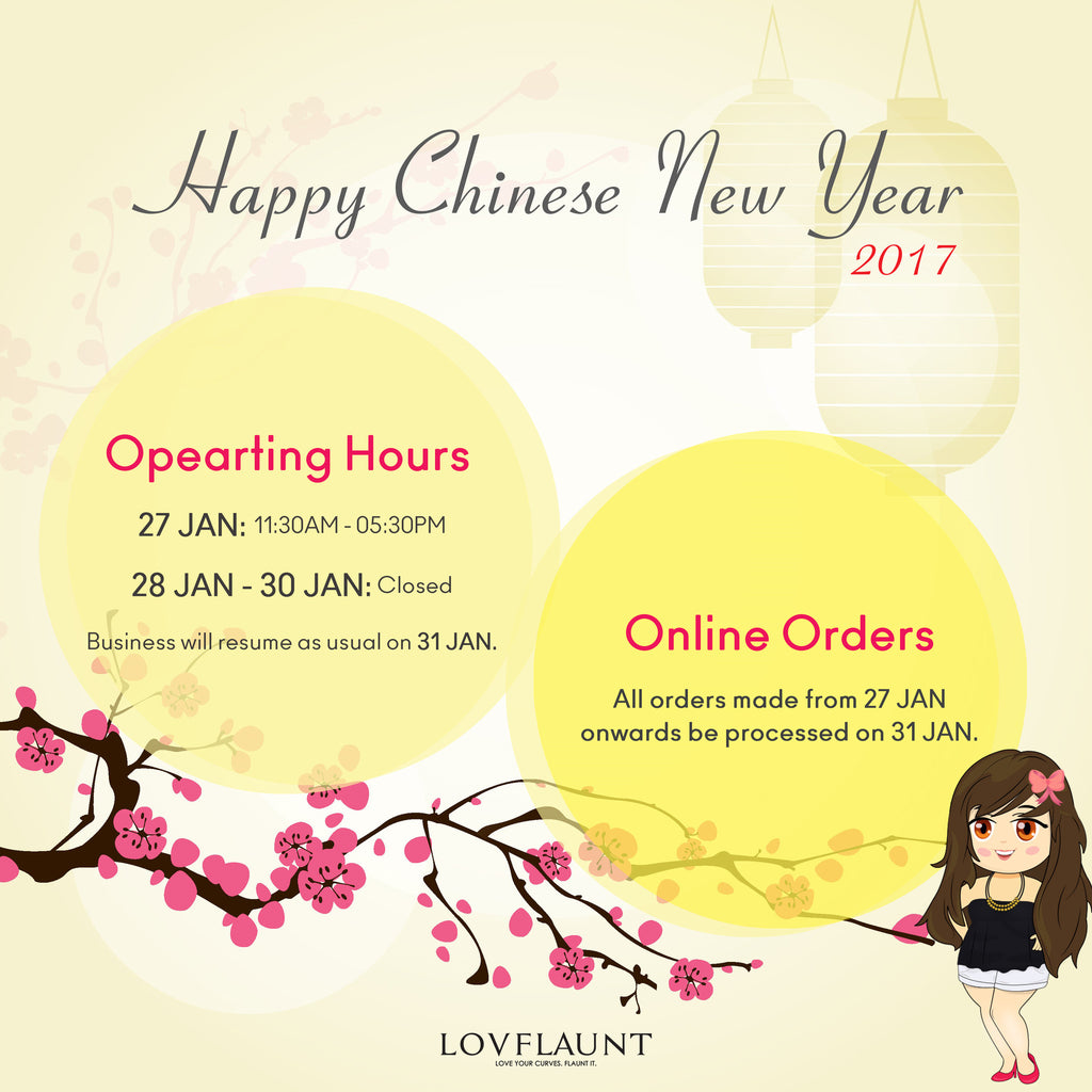 CNY 2017 Operating Hours