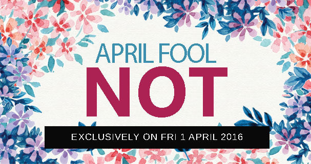 April Fool NOT!