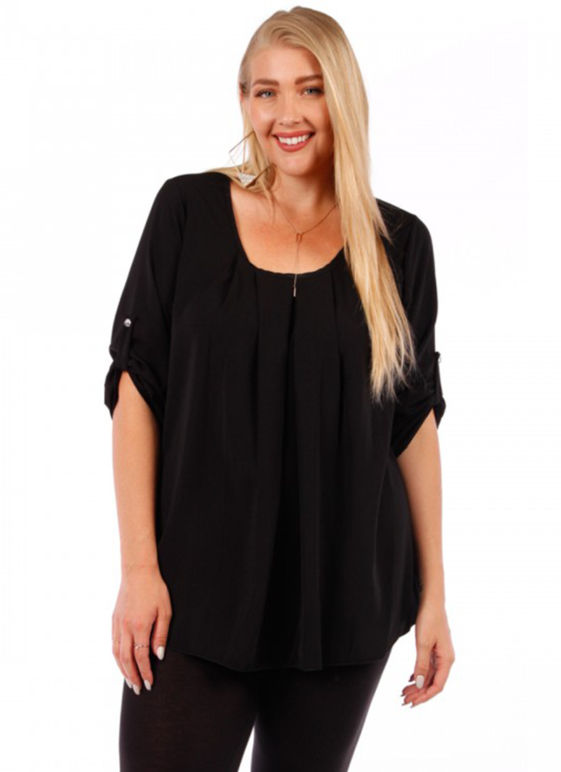 Plus size ladies top
