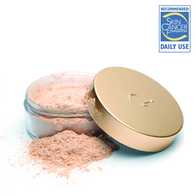 Jane Iredale Amazing Base mineral loose powder foundation.