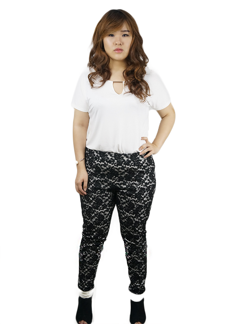 ladies plus size formal pants