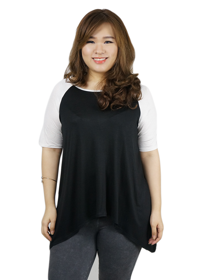 Ladies plus size fashion top