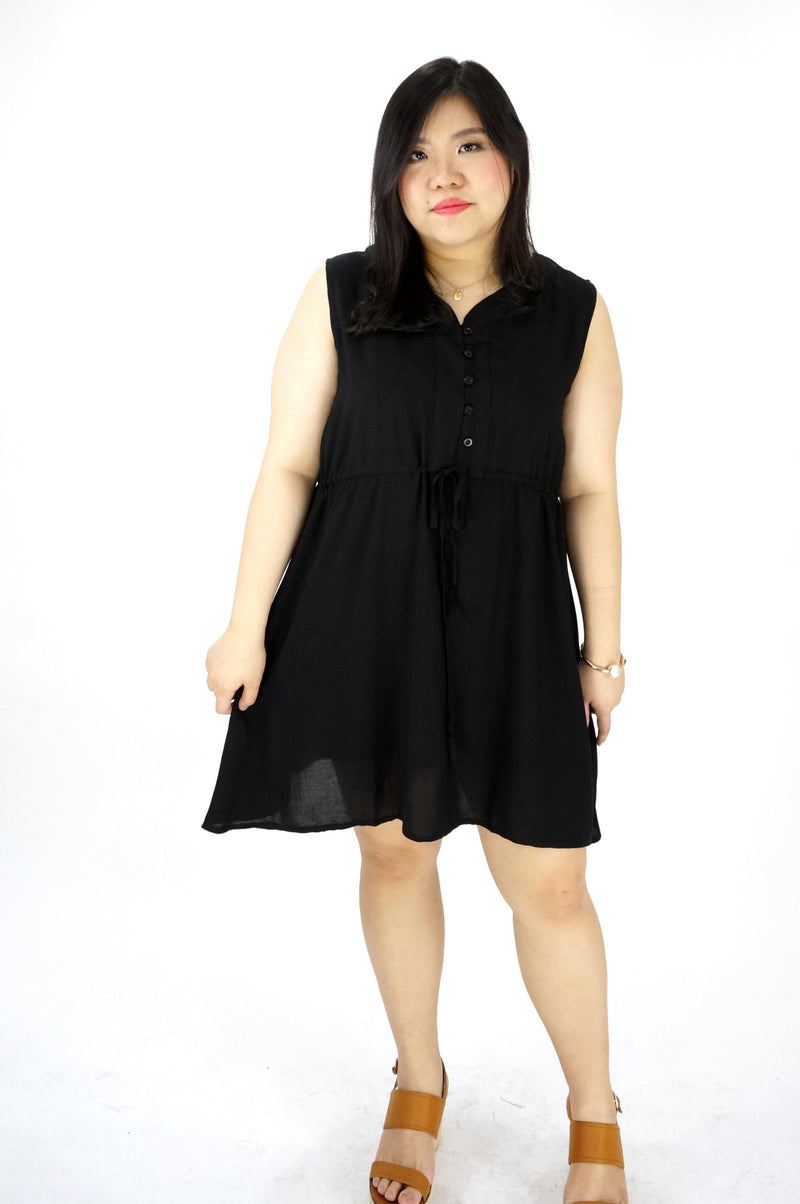 Sleeveless Black Dress