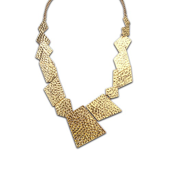 Irregular Geometrical Necklace
