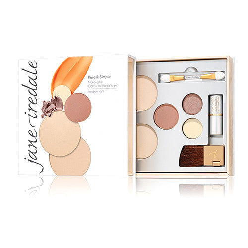 Pure & Simple Makeup Kit - Medium Light