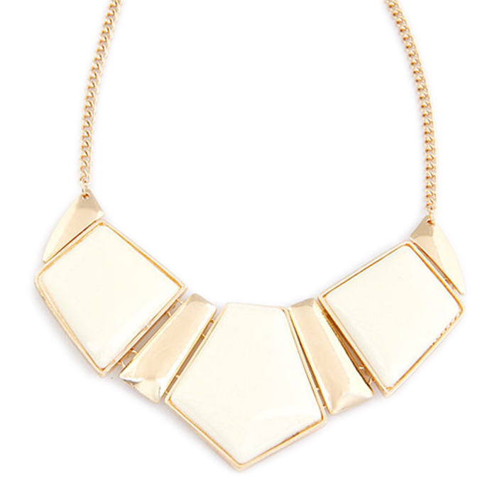 Geometry Square Necklace