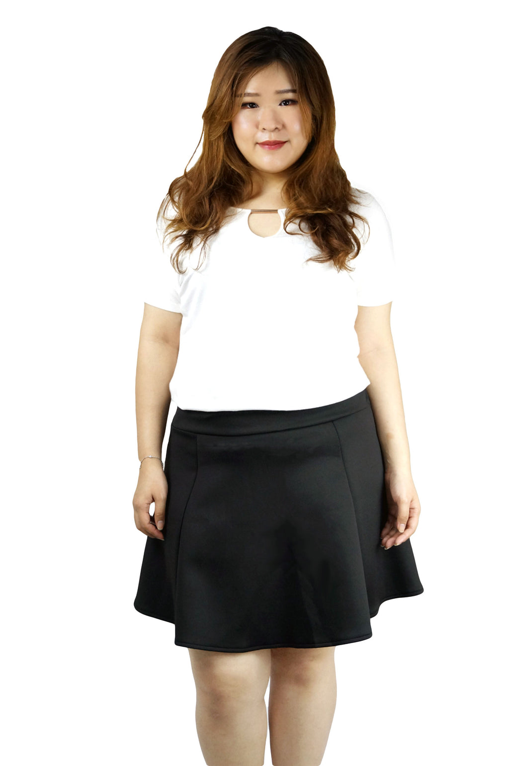 A-line Mini Black Skirt