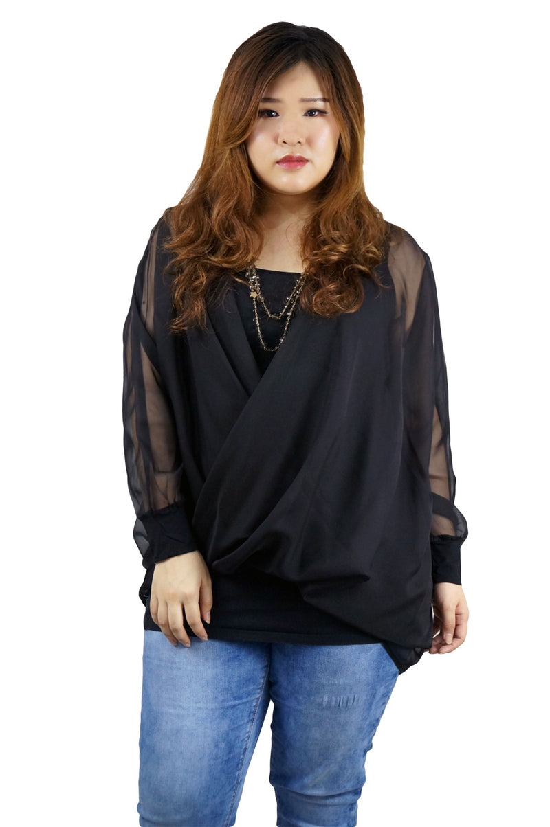 Chiffon Pullover Top