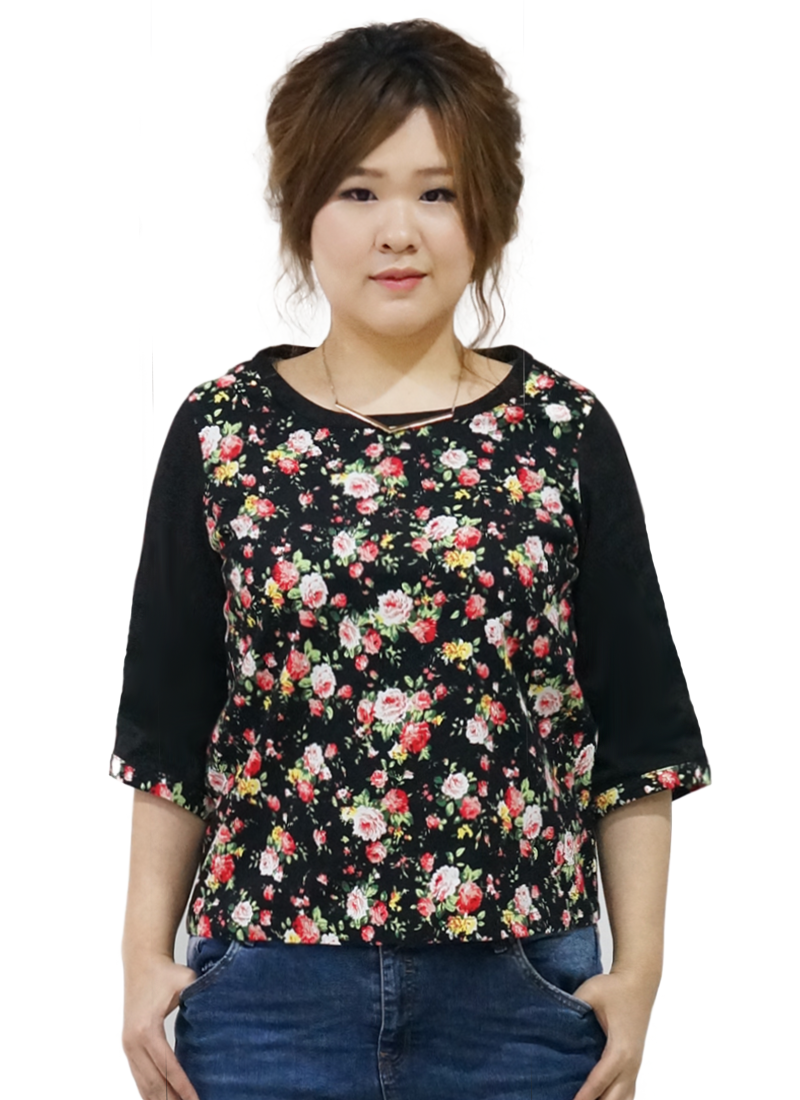 Ladies plus size top