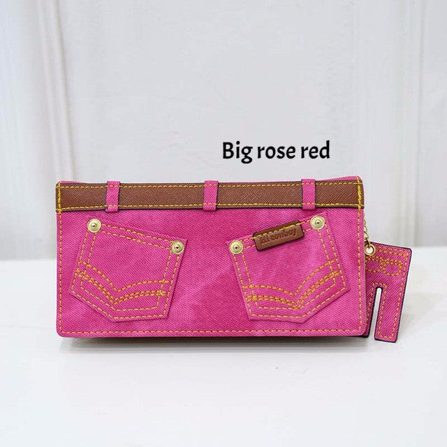 New Fashion Canvas Jeans Wallet