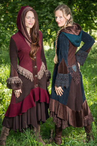 IPSEITY DESIGNS » Recycled Sweater Coats &amp Vests - Ipseity Designs