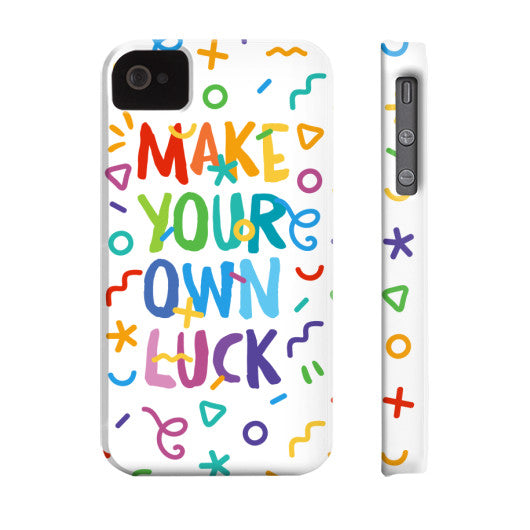 Make Your Own Luck Phone Case - Serob  - 8