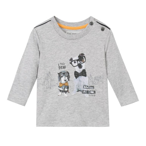 BowTies are Cool with Dogs Print 2PC Set for Boys - Serob  - 1
