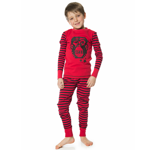 Dream Catcher Monkey Print 2PC Pajama for Boys - Serob  - 1