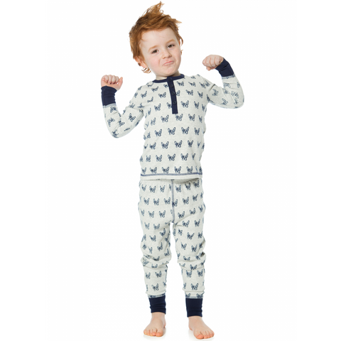 Dream Catcher 2PC Bulldog Print Pajama for Boys - Serob  - 1