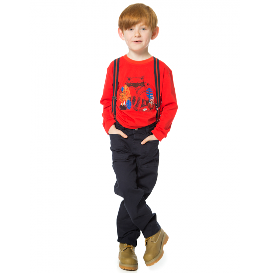 Cool Raccoon Suspenders for Boys - Serob  - 2