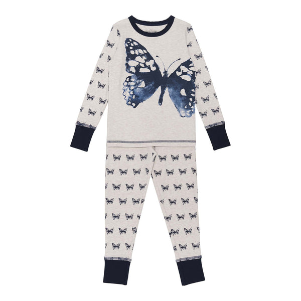 Dream Catcher Butterfly Print 2PC Set Pajama for Girls - Serob  - 2