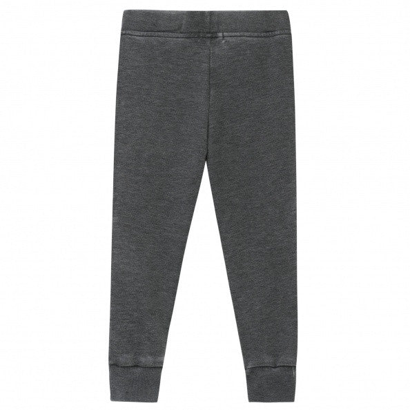 Grey Hoodie with Sweatpants Set for Girls - Serob  - 5