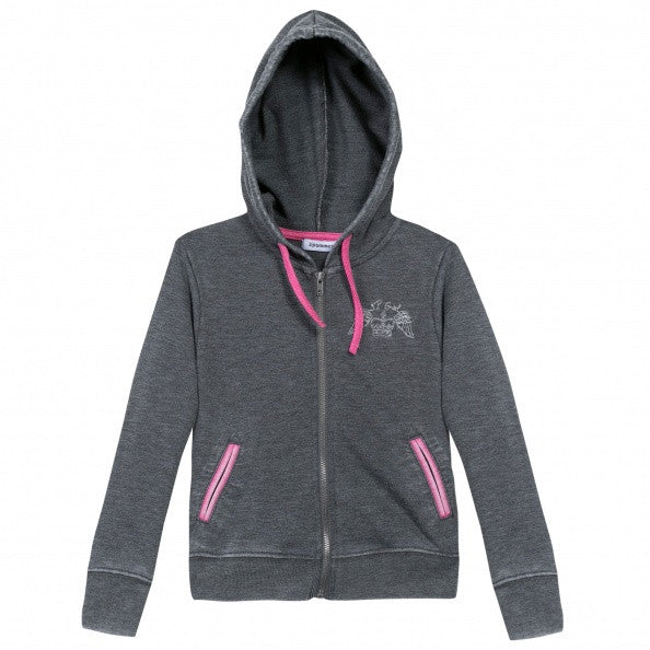 Grey Hoodie with Sweatpants Set for Girls - Serob  - 6