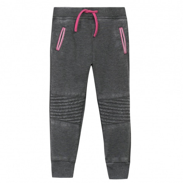 Grey Hoodie with Sweatpants Set for Girls - Serob  - 4