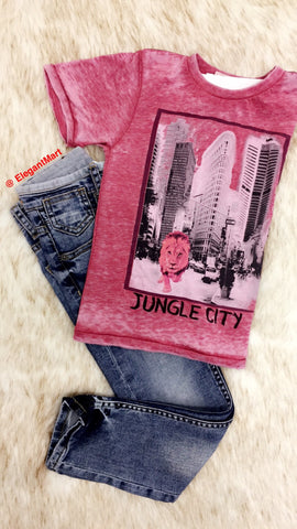 Jungle City 2pc Set for Boys