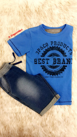 2pc Comfy Short Set for Boys