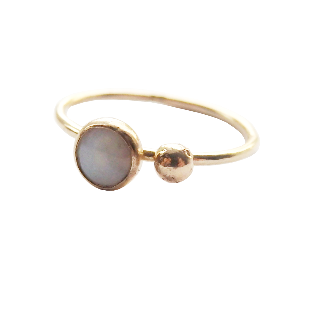 14 Karat Gold and Opal ring