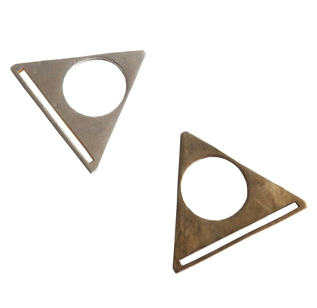 Metrix Jewelry Circle Triangle Ring